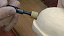 Wood Carving using the Carbide Hollow Tip Burr HT2