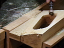 Wing Handle Carved using the Carbide Sanding Drum SD2