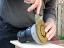 Removing the 5'' DuraDisc Carbide Sanding Disc