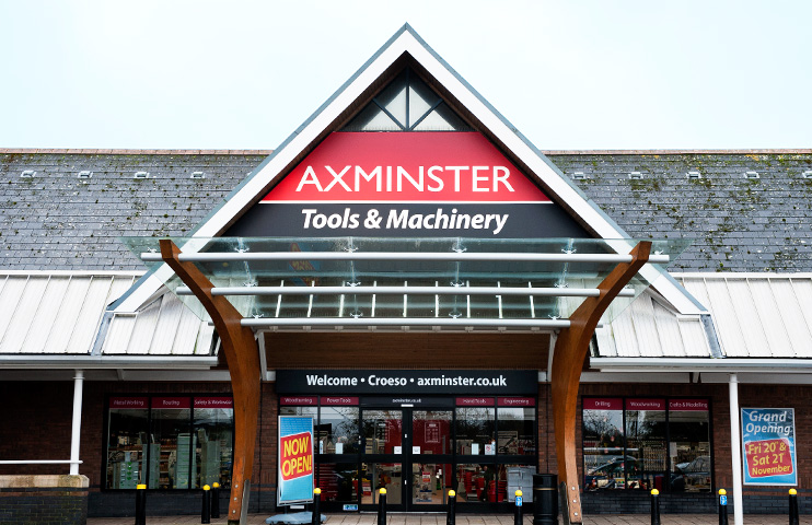 Axminster Store in Cardiff, Wales
